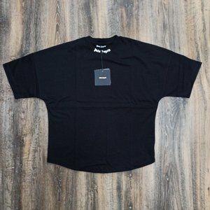 Palm Angels Black Oversize T-Shirt , Men's ,  NWT